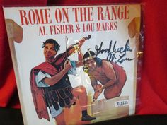 """Autographed Comedy Album """"Rome on the Range"""" by trackerjax on Etsy"""