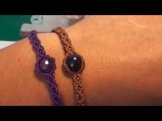 ( 6 ) ( English ) Tutorial ( Shape S Bracelet with Accessories ) / Las3Raices - YouTube