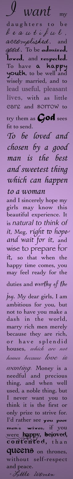 The Best Wishes. Marmee, Little Women, Louisa May Alcott