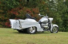 '57 Chevy trike...  Josh...I saw a Bike very similar to this.  I will see if I can find the pictures I took of it for you.  IW