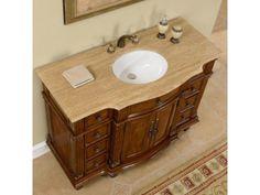 Victorian Single Sink Vanity Set Stone Top Bathroom Storage Cabinet Furniture for sale online Vanity Cabinet, Vanity Set, Vanity Ideas, Cabinet Furniture, Bathroom Furniture, Single Sink Bathroom Vanity, Traditional Bathroom, Amazing Bathrooms, Bathroom Storage