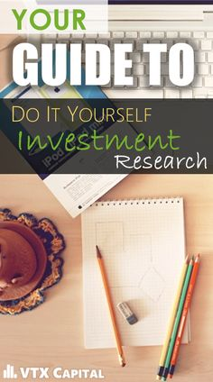 DIY Investment research
