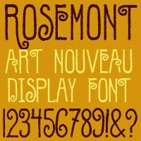 Rosemont Font in Upcoming Borrowers Movie | Fontcraft: Scriptorium Fonts, Art and Design