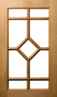 View details for our 9 Lite Diamond Mullion, None, Maple custom cabinets. Handmade cabinets for any room of the house. The difference is in the details. Window Grill Design Modern, Wooden Front Door Design, Wooden Front Doors, House Gate Design, Door Gate Design, Single Door Design, Wooden Window Frames, Composite Door, Fancy