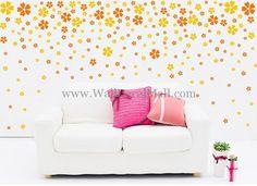 Celestial Beauty 110 Cherry Flowers Wall Decals – WallDecalMall.com