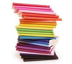 cute-stylish-colorful-notebooks, #notebooks via The Style Umbrella blog