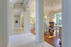 Dear Blogfriends, When I was doing some research on Palm Beach houses today I came across this Real Estate piece of heaven and I thought...