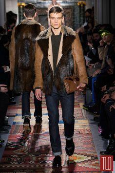 Valentino Fall 2014 Menswear Collection