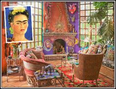 Design Icon: Frida Kahlo - Painterly Inspirations with Mexican Flair
