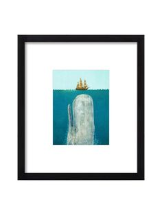The Whale by Terry Fan for Artfully Walls