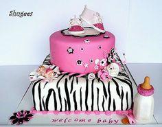 Girl baby shower cake! <3