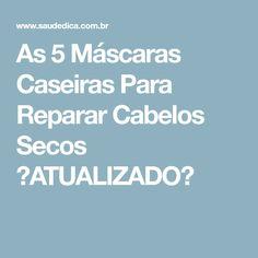As 5 Máscaras Caseiras Para Reparar Cabelos Secos 【ATUALIZADO】