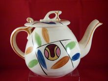 5 Cup Teapot with Hook Lid & Great Colors, $32