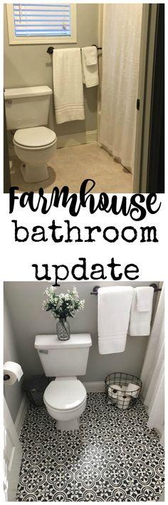 Farmhouse Bathroom Update