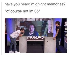 Anniversary of Day for Midnight Memories! One Direction Videos, One Direction Humor, One Direction Pictures, I Love One Direction, Niall Horan, Zayn Malik, 1d Day, Midnight Memories, Normal Guys