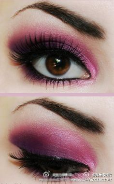 purples and pinks!