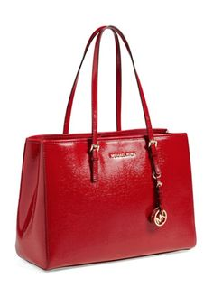 Pretty Michael Kors Large Leather Tote http://rstyle.me/n/txd8nbh9c7