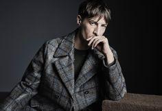 Benn Northover Fronts Ermenegildo Zegna Couture Fall/Winter 2015 Campaign