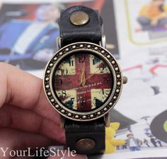 Flag of Uk Watch, Fashion Watch,Christmas Gift from yourlifestyle by DaWanda.com