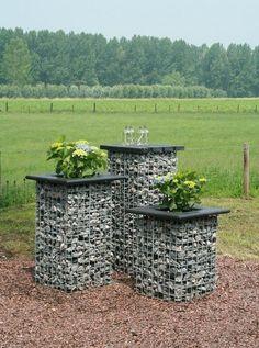 gabion floral garden display http://www.gabion1.com