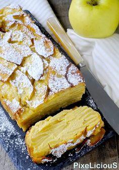 Apple Deserts, Apple Dessert Recipes, Sweets Recipes, Low Carb Desserts, Low Carb Recipes, Low Carb Brasil, Confort Food, Torte Cake, Low Carb Bread