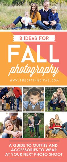 Fall photography ideas to help decide what to wear! www.TheDatingDivas.com