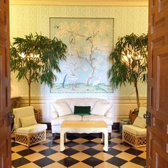 THE GARDEN HALLS - Mark D. Sikes: Chic People, Glamorous Places, Stylish Things