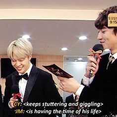 "minblush: """"Jimin's disarming smile works on absolutely everyone "" """