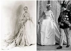 Grace Kelly - Page 2 - the Fashion Spot Helen Rose, Grace Kelly Wedding, Wedding Bride, Wedding Dresses, Grace Beauty, Vestidos Vintage, Hollywood, Her Style, Style Icons