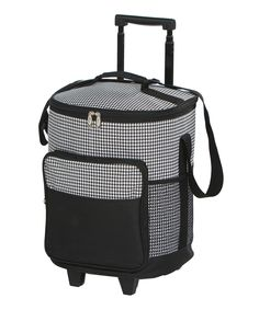 Take a look at this Houndstooth Dash Rolling Cooler today!