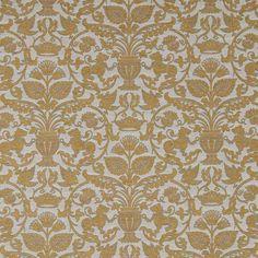 Warwick Fabrics : SARAFINA, Colour GOLD