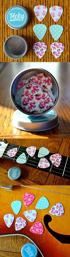 Pretty guitar picks
