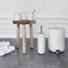 Menu Bath Toilet Brush by Norm Architects | Scandinavian designed toilet scrubber | MenuDesignShop.com