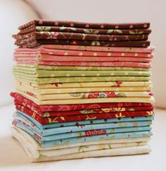 Have a fat quarter and don't know what to do with it?  Here are a bunch of links to fat quarter tutorials.  Go nuts.