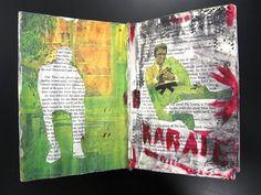 Creatividad Primero: libros alterados