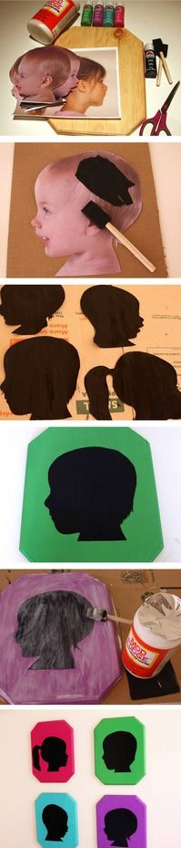 tuTORIal: DIY Vintage Pop Silhouettes