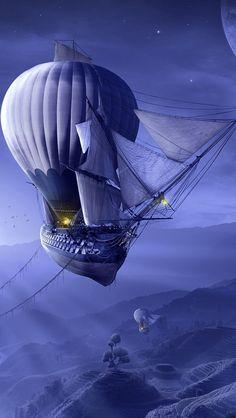 """""""Somos um povo nomade que sempre viveu no ar. Um povo livre com balões e zeppelins. Essa noções de liberdade de vocês são terríveis"""""""