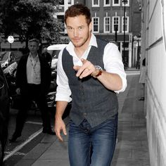 Tell us who deserves this year's crown by picking your favorite well-dressed gents Groomsmen Attire Grey, Most Stylish Men, Gq Style, Chris Pratt, Mens Fashion, Fashion Outfits, Lady And Gentlemen, Well Dressed, Gentleman