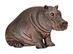 Schleich - Figura cría de hipopótamo (14682): Amazon.es: Juguetes y juegos