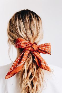 Easy Fall Hairstyles, Hair Trends 2018 - İnteresting İdeas For Your Hair Scarf Hairstyles, Pretty Hairstyles, Hairstyles 2018, Bandana Hairstyles For Long Hair, Summer Hairstyles, Braided Hairstyles, Cute Headband Hairstyles, Low Pony Hairstyles, Bandana Hairstyles Short