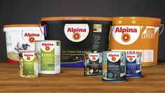 Alpina is one of the leading brands in paint and home decoration world wide. Starting in 2011 we worked together on a global brand relaunch in more than 10 countries. (Alpina International)