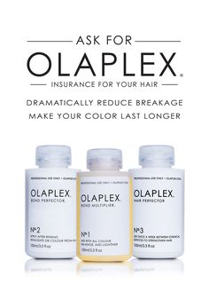 Optimize Olaplex by offering it as a new salon service.Include the professional Hair Perfector No.3 Take Home for your client to use once a week to strengthen hair further or to use as a pre-treatment to a future chemical service. Hair Perfector No.3 Take Home has amazing additional benefits reported by hundreds of clients.