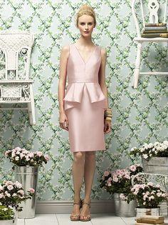 Lela Rose Style LR186 Pearl Pink