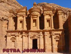 Seven Wonders Of The World Ruins of Petra Jordan