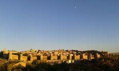 Luna creciente em Avila