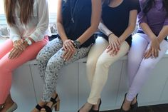 J Brand nail party featuring colors from our Spring pastel palette!