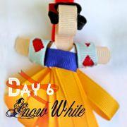 Grosgrain: Day 6: Snow White Inspired Disney Ribbon Sculpture Pattern