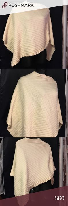 MdR Maria Di Ripabianca poncho Made in Italy. 100 % wool. Perfect to be stylish in the winter, this was a present to me. Worn a handful of times.  US size 6- I would say it's a Large. maria di ripabianca  Jackets & Coats Capes