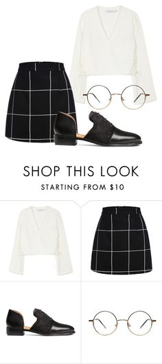 """""""Worker Bee"""" by maekeesha on Polyvore featuring Finders Keepers and H&M"""