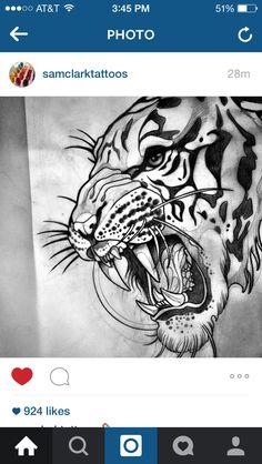 Tiger head
